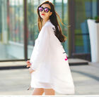 2017 New Summer Womens Sun-proof Anti UV Loost Coats Hooded Long Jacket 4Color