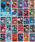 "NFL Teams -  11"" x 17"" Multi Use Decal Sheet (4 Decals) Auto, Cornhole, Windows $10.99 USD on eBay"