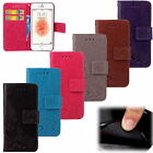 Lucky Clover Magnetic PU Leather Soft Wallet ID Holder Stand Case Lot Phones