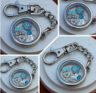 GIFT FOR DAD- Father's day Gift Keyring - Dad Son Daughter - Plain Memory Locket