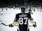 Sidney Crosby Pittsburgh Penguins Back NHL Wall Print POSTER $17.95 USD on eBay