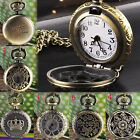 Chic Brand New Gold brass tone floral carved ladies fashion necklace watch