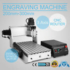 NEW 3020T CNC ROUTER ENGRAVER ENGRAVING MACHINE 3 AXIS ARTWORK DESKTOP CARVING