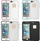 Touch ID Waterproof Dirt Snow Proof Cover Case For iPhone SE 5 5S 6 6S Plus FV