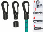 Easy Quick Self fit plastic hooks for 5mm bungee elastic shock cord Rope new