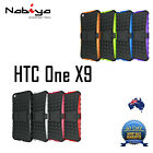 TPU + Silicone Shockproof Kickstand Case Cover for HTC One X9