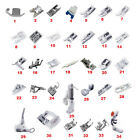 Domestic Sewing Machine Presser Foot Feet Kit Set For Janome Brother Singer