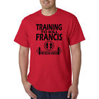 Training To Kill Francis T-Shirt - Funny Deadpool Vegeta GYM Weight Lifting Tee