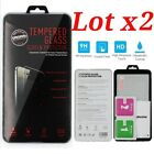 Lot x2 Premium Tempered Glass Screen Protector for Apple iPhone 5,5c,5s,SE