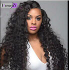 Brazilian wave remy human hair halo full lace wig front lace wig with babay hair