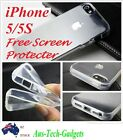 IPhone 5 5S case Brand New Crystal Clear Silicon TPU Soft Full Cover Case
