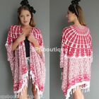 Bali bohemian boho new elephant kimono cape fringed 6 8 10 12 14 forever hot