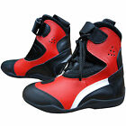 Mens Motorcycle Boots Leather Motorbike Waterproof Biker Touring Boots Shoes
