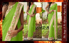 Bollywood Inspired - Designer Green Party Wear Saree - 9082-A