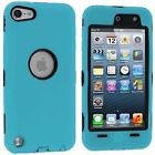 FOR iPod Touch 6th Gen 6G HARD & SOFT RUBBER IMPACT ARMOR CASE HYBRID COVER CASE
