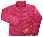 THE NORTH FACE Women's Valdotain Down Jacket Pink M Puffer Quilted Nylon Ski NEW