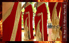 Bollywood Inspired - Wedding Wear Beige & Red Saree - 9086-C