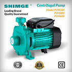 Shimge PUM Centrifugal Pump Stainless Steel Impeller Up to 120L/min & 27m Head