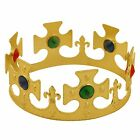 Royal Golden Crown Dressing Up Costume Accessory Princess King Queen Boy Girl
