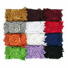 "3"" White Black Ivory Red 12 Colors Rose Floral Venice Lace Trim Guipure By Yard"