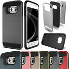 Hybrid Rugged Rubber Hard Shockproof Case Cover For Samsung Galaxy Note 3 4 5