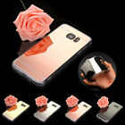 Luxury Ultra-Thin Mirror Silicone Gel TPU Case Cover  For Samsung Galaxy J7