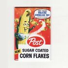 VINTAGE CEREAL BOX FRIDGE MAGNETS w/ SUGAR CRISP, CORN FLAKES, CRITTERS & MORE!