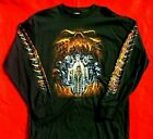 ZigZags AMERICAN MotorCycle Long Sleeve T Shirt Skull Cave CLEARANCE was $23