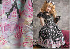 Lolita cartoon fantasy spank rainbow sundae Fraisier halter maid dress B JM3009