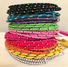 High Quality Braided Colorful Usb Cable Charger Sync Cord For Iphone 7 7s Lot 1