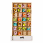 Teddy Bear Wooden Personalised A-Z Alphabet Childrens Name Bedroom Wall Letters