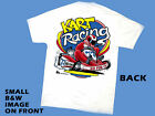 Kart Racing T-Shirt white GO FOR IT 5-adult sizes