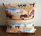 """Handmade by Kango ** 16"""" patchwork cushions All different &  All unique"""