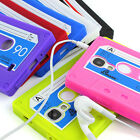 8 colours ! Cassette Tape Samsung Galaxy S3 i9300 silicone case cover+Protector