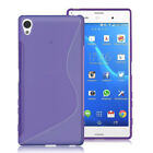 S-Line Flexible Soft TPU Silicone Gel Skin Case Cover For Sony Xperia Phones