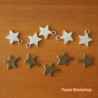 Cute Star Charm Antique Colors 19mmX16mm Deco Metal Parts Magical Girl DIY