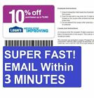 (3) Three Lowe's 10% Off Printable-Coupons - Exp 10 15 16 - Fast Email Delivery