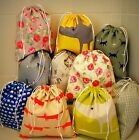 Waterproof Lined Drawstring Wash Bag Case Cosmetic Make Up Toiletry Travel Gift
