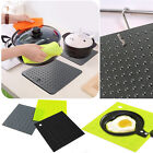 Non-Toxic Silicone Heat Resistant Mat Hot pot holder Jar opener Insulation Pad