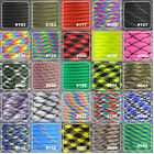 550lb Paracord Parachute Cord Lanyard Mil Spec Type III 9 Strand Core 25FT-100FT