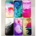Slim Watercolor Pattern Soft TPU Silicon Back Case Cover for iPhone 5S 6 6S Plus