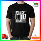 Straight Outta Jordanstown Premium T-shirt Tee Funny Uni Freshers Ulster Student