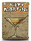 ALCOHOL DIRTY MARTINI SPIRITS HARD BACK CASE COVER FOR APPLE iPAD AIR 1 / 2