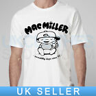 MAC MILLER HIP HOP RAP ASAP OBEY WASTED YOUTH LEMAR COMME DES ROCKY T SHIRT