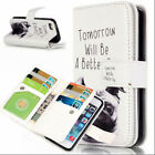luxury Photo Frame Wallet Card Slot Stand Flip PU Leather Case Cover For