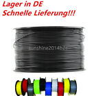 3D Drucker PLA & ABS 1.75mm / 3mm Printer Filament - Mit Spule 1kg Gut DE