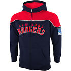 NEW REEBOK New York Rangers Face Off Collection Full Zip Track Hooded Jacket $32.99 USD on eBay