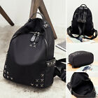 Water Resistant Nylon Studded Backpack Rucksack Purse Daypack Cute bag Travel
