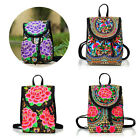 Vintage Women Canvas Shoulder School Bag Backpack Girls Travel Satchel Rucksack