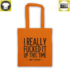little lion man Like MUMFORD & SONS quote tote bag, shopper Sigh No More